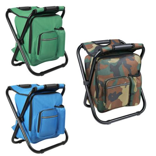 Portable Folding Stool Backpack Travel Hiking Bag