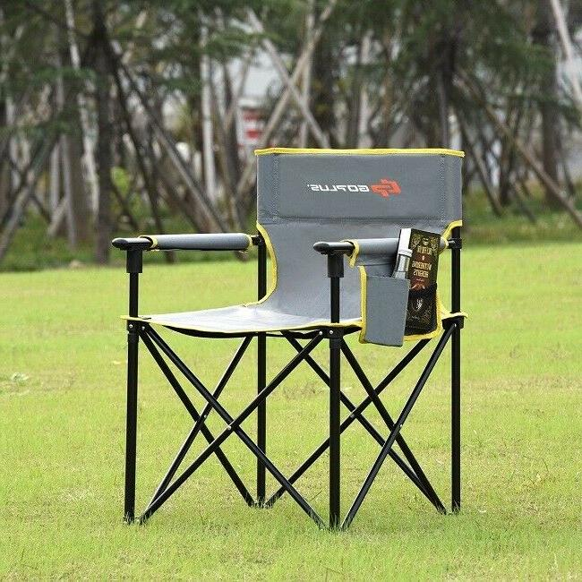 portable folding chair outdoor camping beach fishing
