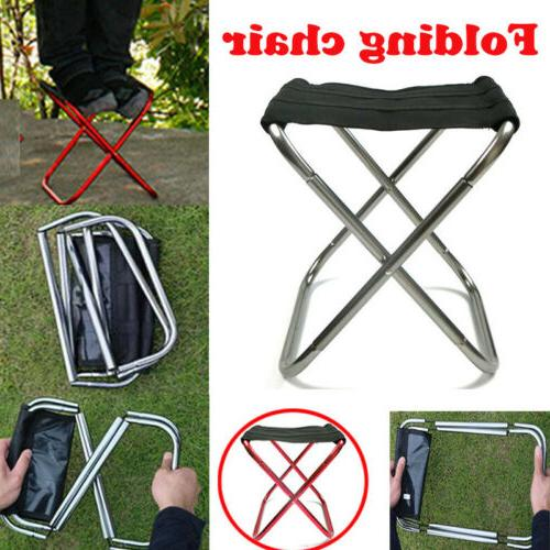 Portable Folding Chair Travel Camping Stool Lightweight