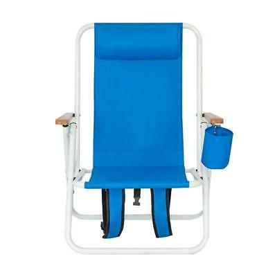 Portable High Chair Blue