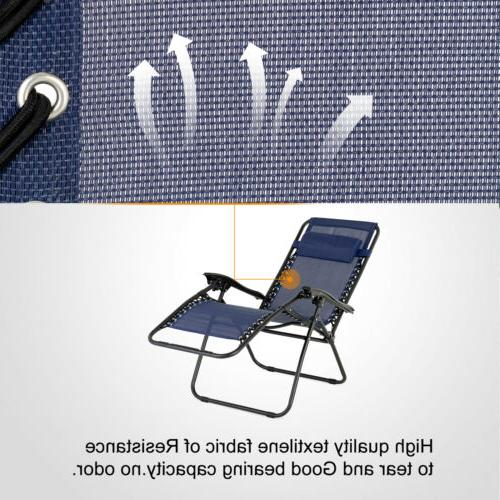 Portable Patio & Table Recline Lounge Chair Chair