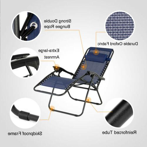 Portable Table Zero Recline Chair