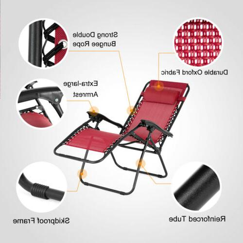 Portable Zero Lounge Set Chair Beach Chair