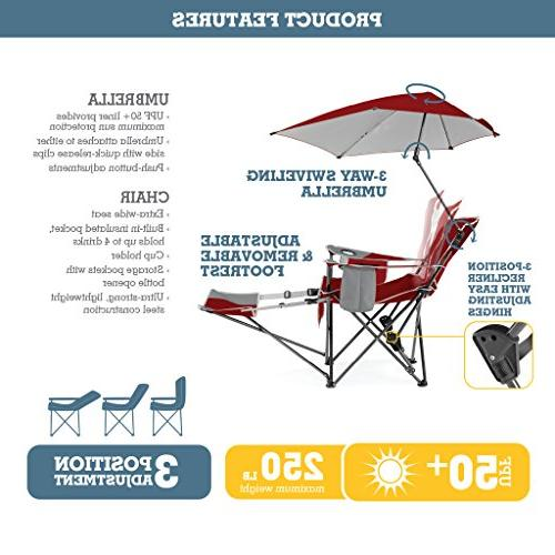 Sport-Brella Recliner W/ Umbrella