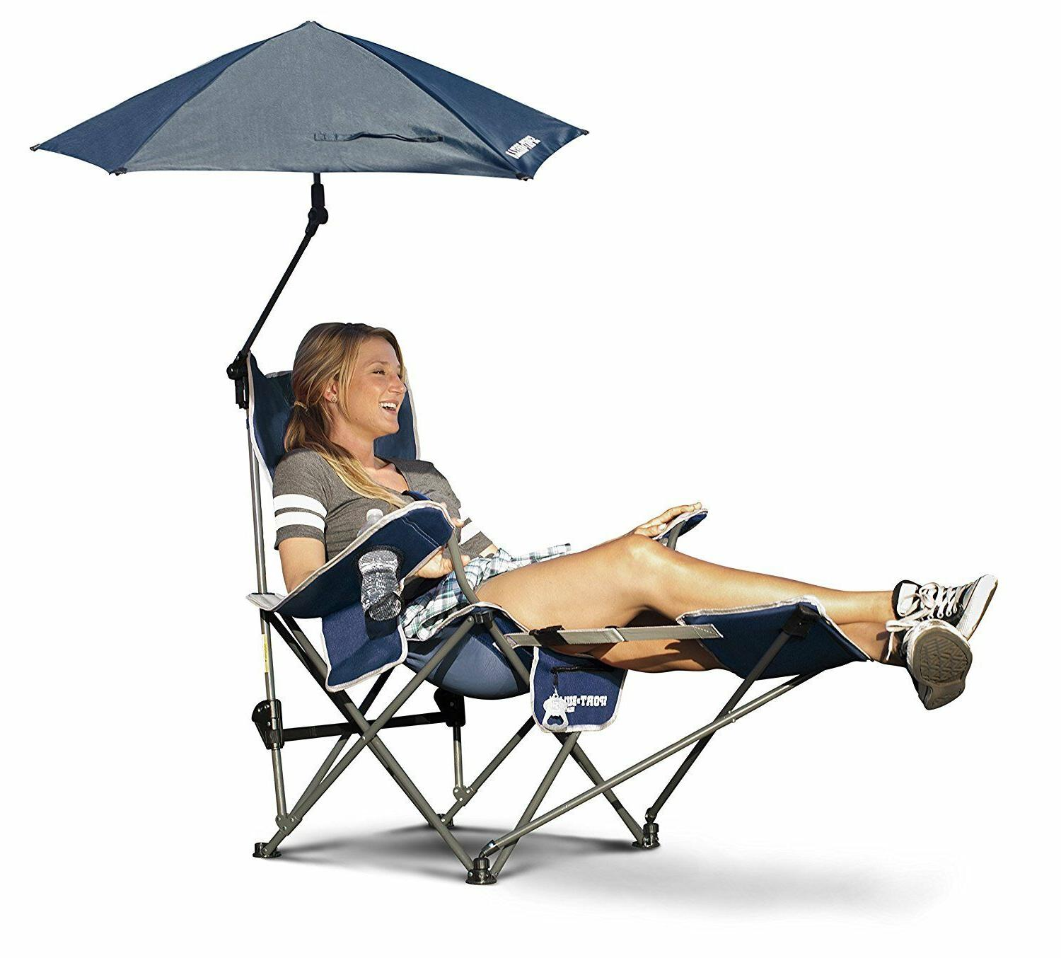 recliner chair with umbrella easy to carry