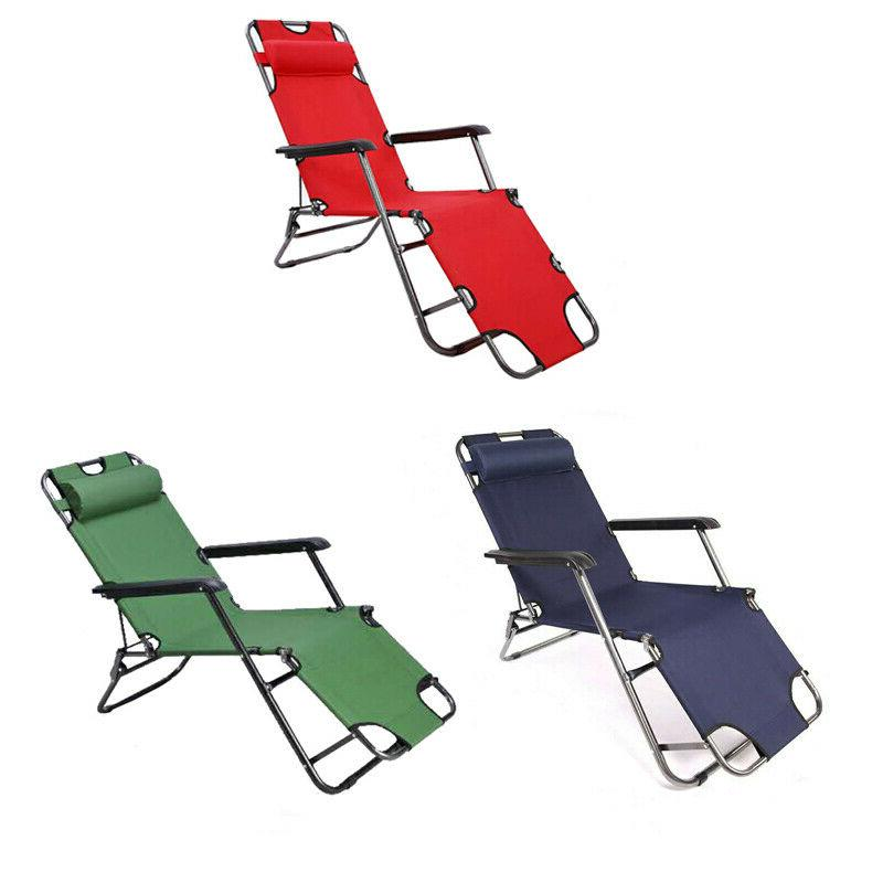 Reclining Beach Chaise Lounge Lawn