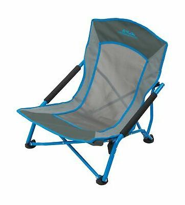 rendezvous folding camp chair ocean charcoal
