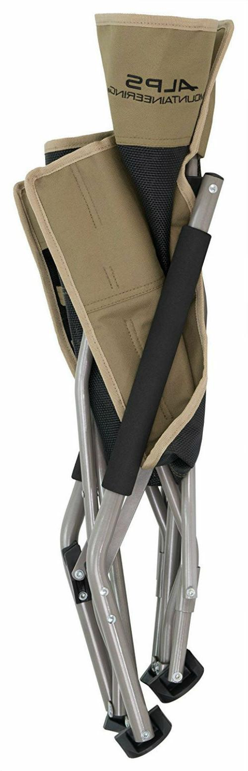 ALPS Mountaineering Rendezvous Folding Chair, Camping, Sporting, Khaki