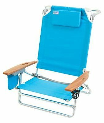 Rio Beach Big Extra Beach Chair, Turquoise