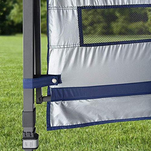 Quik Summit 10 x 17-Foot with Dual Awnings, 170 Square of for 15 People
