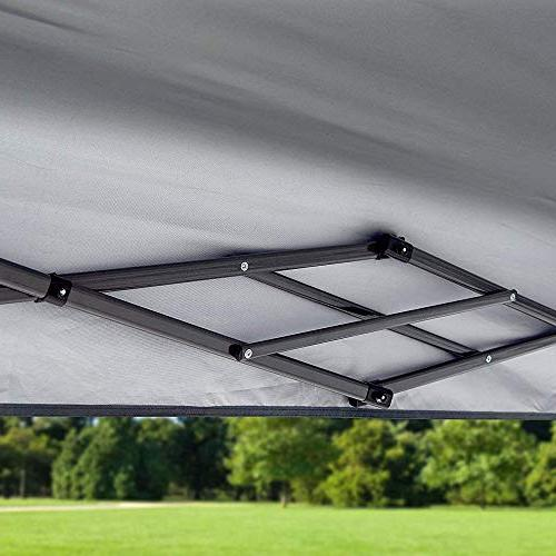 Quik Summit x with Adjustable Dual Awnings, 170 Square of Shade for People