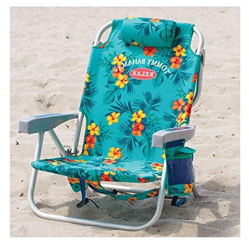 Tommy Bahama 2017 Backpack Cooler Beach with Towel Bar