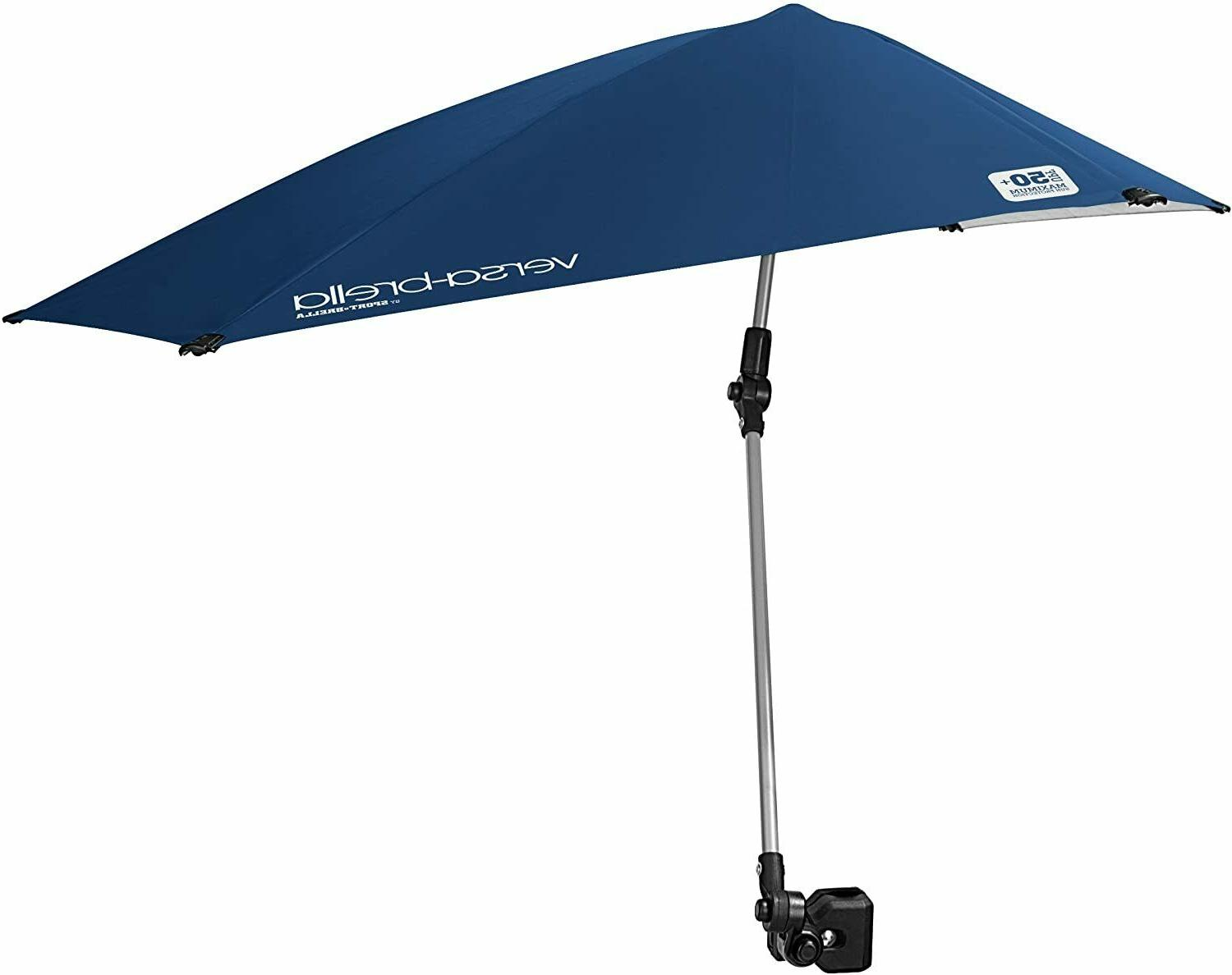 Canopy Umbrella Beach Chair Clamp On Stroller Shade Camping Tent