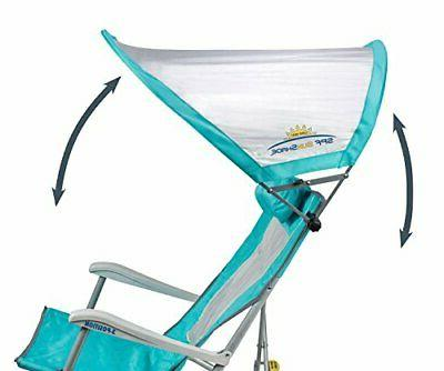 Waterside SunShade Recliner Chair with SPF Canopy
