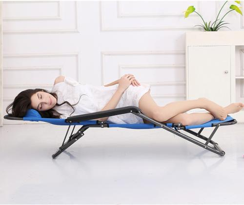 Zero Gravity Blue Reclining Benche