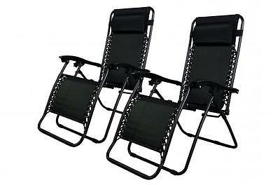 Zero Gravity Chairs Case Of  Black Lounge Patio Chairs Outdo