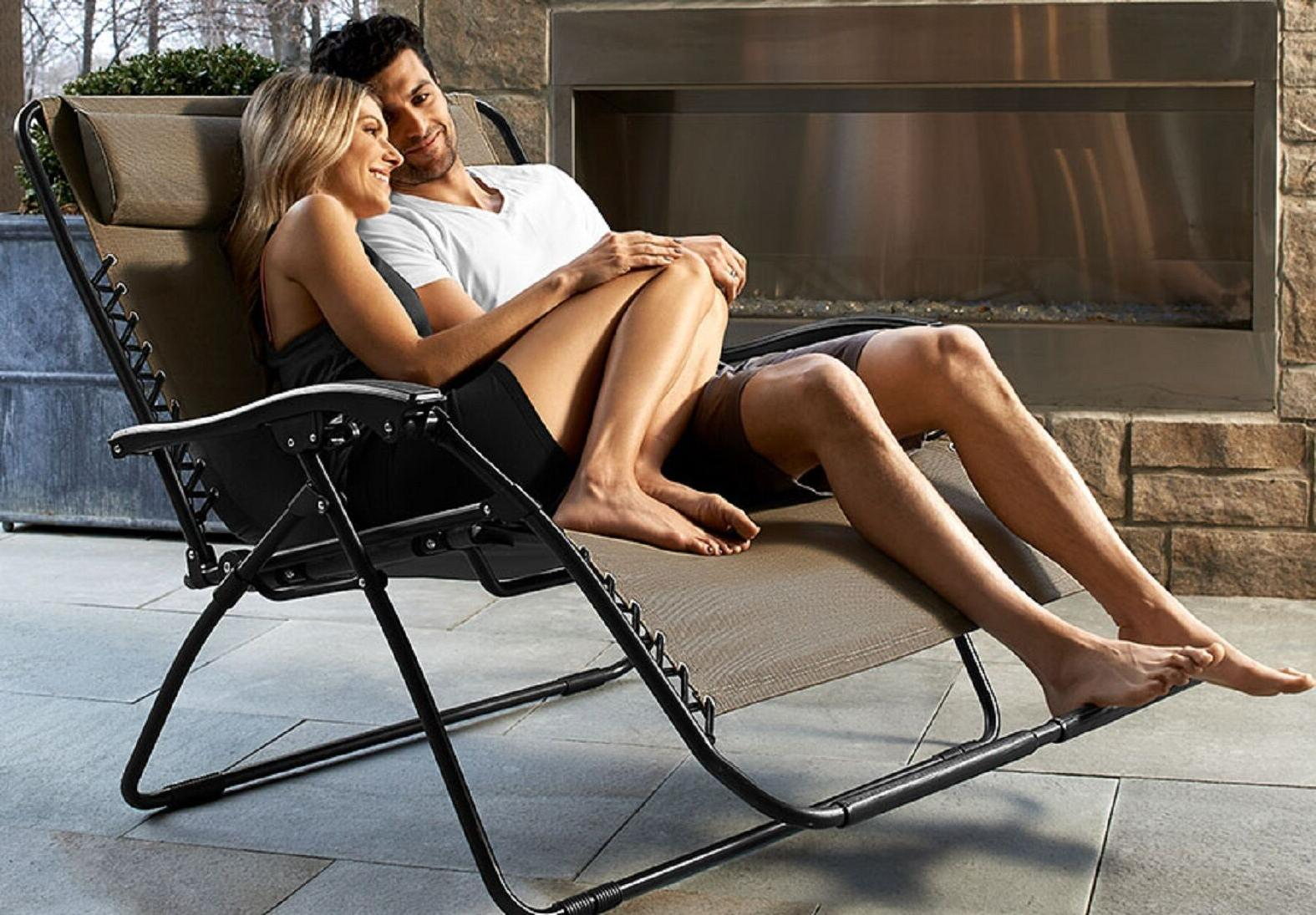 Zero Loveseat Tan Outdoor Chair