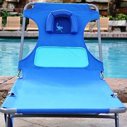 Ostrich Ladies Comfort Chaise Lounger - Blue with Custom Fit