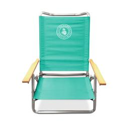 Caribbean Joe Lay Flat Beach Chair CJ-7740