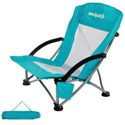 KingCamp Low Beach Camping Ultralight Chair Camp Reclining F