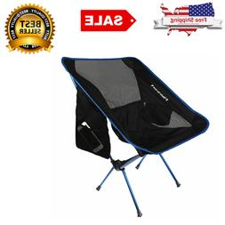 Lightweight Folding Camping Beach Chair Compact & Heavy Duty
