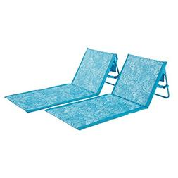 Lightspeed Outdoors 2 Pack Lounger Park and Beach Chair
