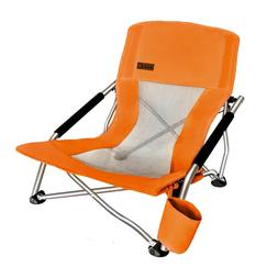 Low Beach Camping Ultralight Compact Chair Camp Reclining Fo