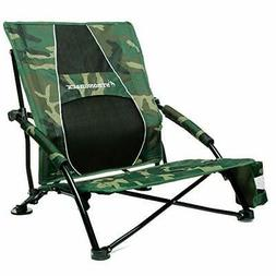 STRONGBACK Low Gravity Beach Chair Heavy Duty Portable Campi