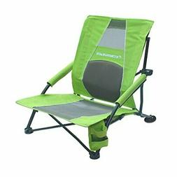 low gravity beach chair with lumbar support