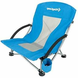 KingCamp Low Sling Beach Chair for Camping Concert Law Low a
