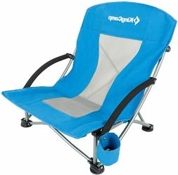 KingCamp Low Sling Beach Chair for Camping Concert Lawn, Low