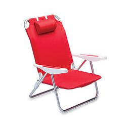 MONACO BEACH CHAIR PORTABLE BACKPACK FOLDING SEAT LIGHTWEIGH