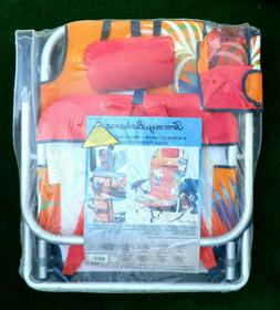 NEW Tommy Bahama Backpack Foldable  Beach Chair with Pocket