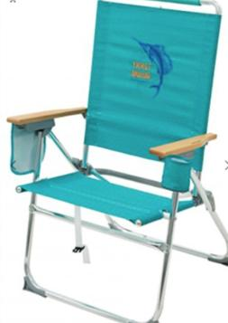 NEW Tommy Bahama Beach Pool Camping Chair 7-Position Hi Boy