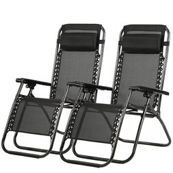 New Zero Gravity Chairs Case Of 2 Lounge Patio Chairs Outdoo