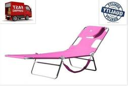 NO TAX Ostrich Lounge Chaise Lounger Beach Chair Camping Out