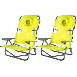 Ostrich On-Your-Back Outdoor Lounge 5 Position Reclining Bea