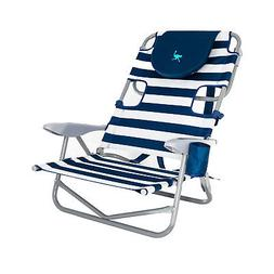 Ostrich On-Your-Back Outdoor Lounge 5 Position Recline Beach