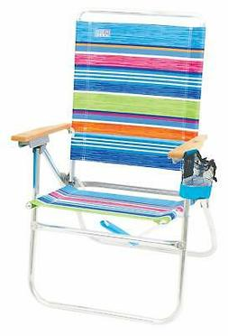 OpenBox Rio Brands Hi-Boy Beach Chair - Stripe