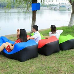 Outdoor Camping Beach Mat Inflatable Air Sofa Pad Lazy Bed L