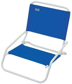 Outdoor Camping Beach Patio Blue Folding Lounge Beach Chair