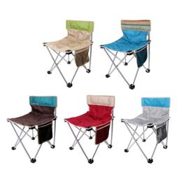 Outdoor Camping Chair Foldable Compact Fishing Beach Backpac