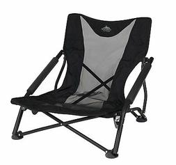 Outdoor Folding Chair Seat Low Profile Camping Beach Sports