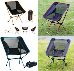 Outdoor Picnic Camping Chair Portable Lightweight Foldable B
