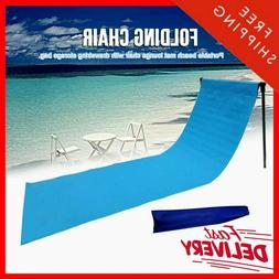 Outdoor Portable Beach Chair Mat - Lounge Chair for Outdoor