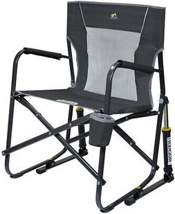 outdoor rocker mesh chair folding easy carry
