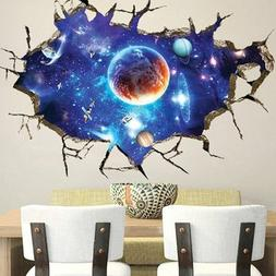 Outer Space Fence Label - Sticker Outer Space Wall Decor Art