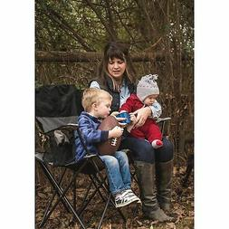 Portable Double Folding Chair Travel Seat Outdoor Camping Be