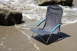 Picnic Time 'Tranquility' Portable Folding Beach Chair, Wave