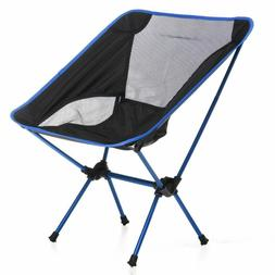 Portable Lightweight Folding Camping Chair Great For Beach,